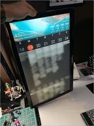 wall mounted family calendar