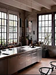 Sleek Cabinets Industrial Style Decor Ideas For Your Home Industrial Style Decor  Ideas Great Pictures