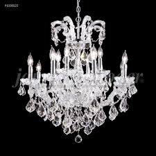 james r moder 91030s0t maria theresa grand 12 light chandelier silver