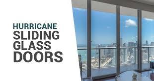 hurricane proof sliding glass doors