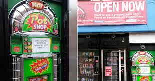 Noodle Vending Machine For Sale Enchanting Britain's First Ever POT NOODLE Vending Machine Is Launched And It