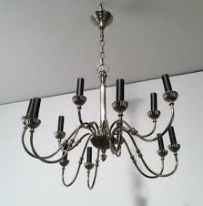 neoclassical lighting. Neoclassical Silver Plated Chandelier With 12 Lights, 1940s 1 Neoclassical Lighting L