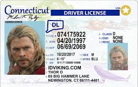 Fake Ids License Drivers Best Connecticut ct Idviking Scannable - Id