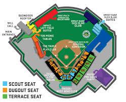 Ducks Football Seating Chart Stadium Map Madison Mallards Madison Mallards