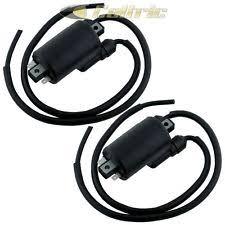 honda nighthawk ignition 2 sets of ignition coil fits honda cb650 cb650c cb650sc 1979 1980 1981 1982 fits