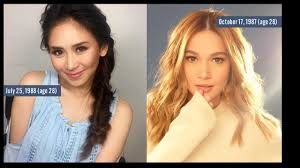 filipina celebrities who have the same age and their birth days