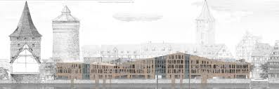 Студент это поисковик а не пустой сосуд для информации  Полина Буш Дипломная работа Реконструкция исторического квартала и фрагмента набережной реки Пегнитц в городе