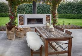 designer outdoor fireplace from trendz outdoors this isn t a diy fireplace