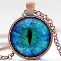 cij eye necklace third eye jewelry evil eye charm eyeball pendant