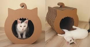 Diy cat playhouse Tower Diy Cardboard Cat House Unique Cardboard Diy Cat House Google Search Pet Projects Of Diy Cardboard Beaeus Diy Cardboard Cat House Awesome Diy Simon Demott Kitty Playhouse