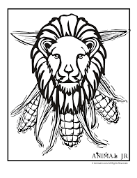 Enter youe email address to recevie coloring pages in your email daily! Kwanzaa Lion Coloring Page Woo Jr Kids Activities