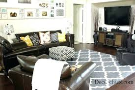 what color rug goes with a brown couch area rug with brown couch rug color brown