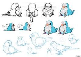 cute bird drawing tumblr. Interesting Drawing Quaker Parrot  Tumblr With Cute Bird Drawing