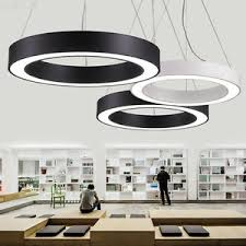 lights for office. Image Is Loading Modern-Office-LED-Pendant-Lights-Circle-Round-Suspension- Lights For Office T