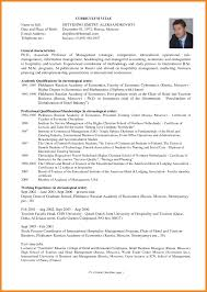 Business Resume Sample International Curriculum Vitae design ...