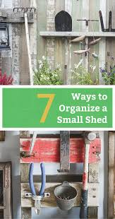 gallery of organize garden tools how to organize a shed with limited space