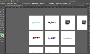 Illustrator How To Export Multiple Logos From Svg To Png Graphic