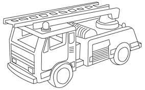 Facile Disegno Da Colorare Dei Pompieri Disegni Da Colorare E