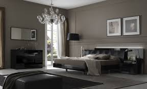 Modern Gray Bedroom Bedroom Large Gray Bedroom With Low Bedding Also Glossy Black