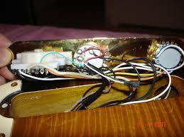 cablage d origine de la telecaster richie kotzen besoin d aide voilà mes photos