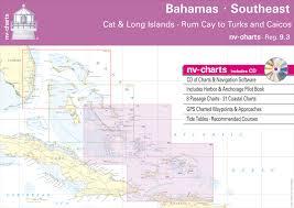 Tide Chart Long Island Bahamas Reg 9 3 Nv Atlas Bahamas Southeast Cat Long Islands Rum Cay To Turks And Caicos