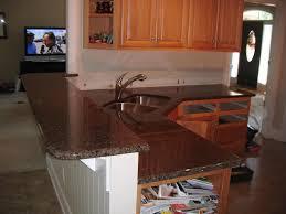 Brown Granite Kitchen Tropic Brown Granite Countertops Granite Charlotte Countertops
