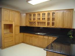 premium oak kitchen cabinets