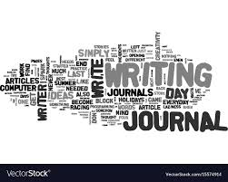 Beat The Block With A Journal Text Word Cloud