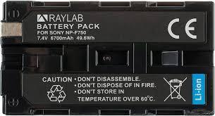 <b>Аккумулятор Raylab RL-F750</b> 6700мАч недорого на ...