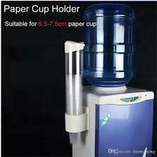 new plastic automatic disposable paper cups storage holder for water dispenser automatic paper cups storage cups dispenser with 49 14 piece on