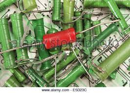 old electronic components lie on the wiring diagram stock photo old electronic components lie on the wiring diagram stock photo