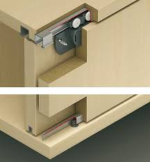 sliding door hardware eku clipo 16 h inslide set in the häfele