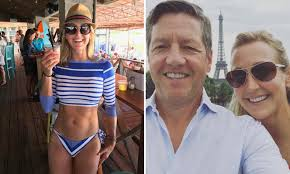 Good Morning America\u0027s Lara Spencer shows off her abs | Daily Mail ...