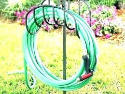 garden hose stakes wrought iron portable hose holder with stake sc 1 st 3weektreport club
