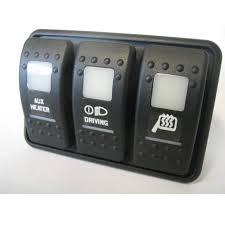 contura ii triple switch mount carling contura ii triple switch mount