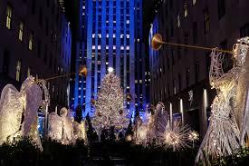 Nbc News Christmas Lights Photos The Rockefeller Center Christmas Trees Journey To