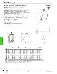 Trapeze Hanger Design Fig 200h Heavy Duty Band Hanger For Trapeze