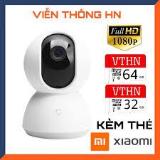 Kèm thẻ nhớ 64gb hoặc 32gb camera wifi ip xiaomi mijia trong nhà full hd  1080p 4.0mp xoay 360 - camera an ninh mi home security đàm thoại 2 chiều -  Sắp