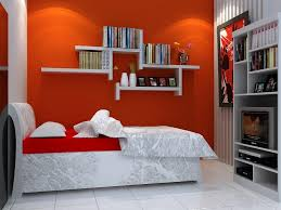 gray and red bedroom. red and gray bedroom ideas