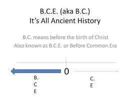 what does chronology mean ppt video online  b c e aka b c it s all ancient history b c means before the birth of christ