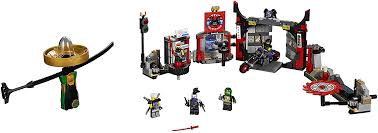 Amazon.com: LEGO NINJAGO S.O.G. Headquarters 70640 Building Kit (530  Piece): Toys & Games