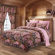 bettdecken 7 pc camo comforter and teal