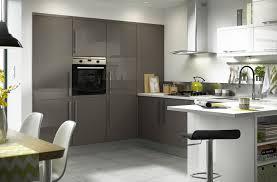 image of gloss black slab 8 unit example kitchen pinterest