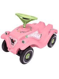 Детская <b>машинка</b>-<b>каталка BIG</b> Bobby Car Classic розовые цветы ...