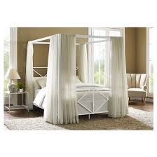 Rosedale Metal Canopy Bed Dorel Home Products Tar