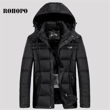 Cut Rate Rohopo Usb Ladung Wärme Warme Parkas Männer Fleece Liner
