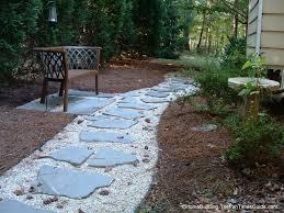 diy stepping stone walkway ideas tips build walkways