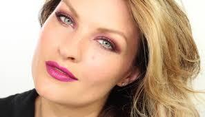 sam chapman pixiwoo free fall autumn pink makeup tutorial