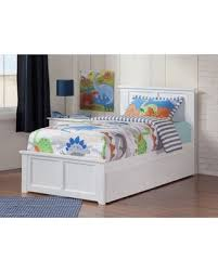 Harriet Bee Alanna Platform Bed with Drawers Size: Twin XL, Bed Frame Color: White from Wayfair | parenting.com Shop