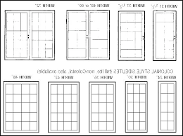 Exterior Door Size Chart Magnaspec Co